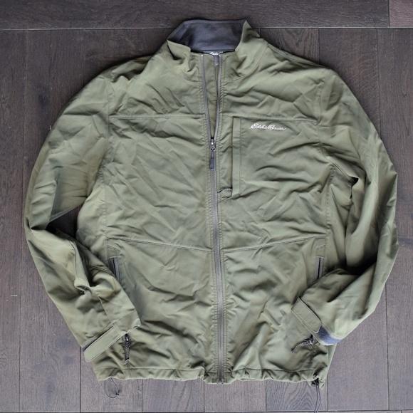 fa59dc2c2 Eddie Bauer Mens Light Rain Jacket Size L